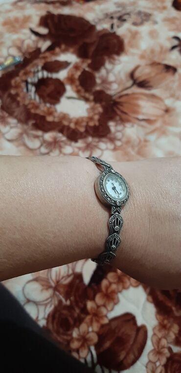 Часы серебряные в рабочим состоянии цена 4000с