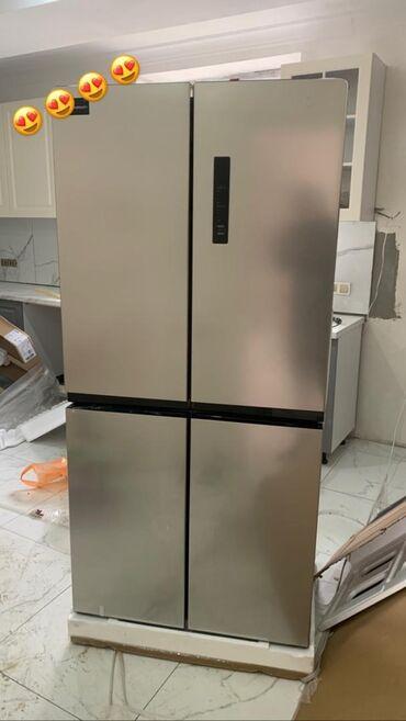 купить ауди а 4 в Кыргызстан: Новый Side-By-Side (двухдверный) Бежевые холодильник Midea