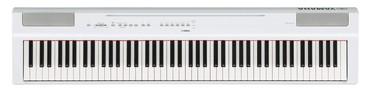 Цифровое Пианино YAMAHA P-125WH //Y. Клавишные инструменты. Yamaha P-1