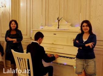 Pianist işi axtariram Musiqi ruhun qidasıdır. O həm də insanın daxili в Bakı