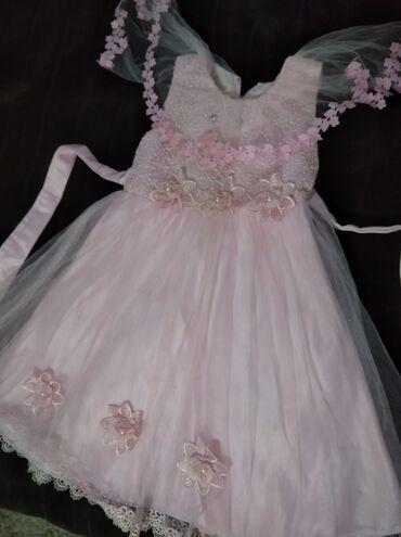 Продам платье на девочку 4-6 лет состояние хорошее одевали пару раз на