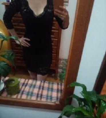 Crna-uska-haljina - Srbija: Mala crna haljina sa kvalitetom čipkom. Uska i atraktivna. Divno