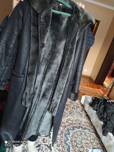 пальто женское зимнее бишкек в Кыргызстан: Продаю дублёнку 48 размер женская