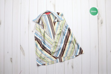 Рубашки и блузы - Цвет: Голубой - Киев: Жіноча блуза без рукавів Elle, р. XL   Довжина: 56 см Ширина плеча: 32