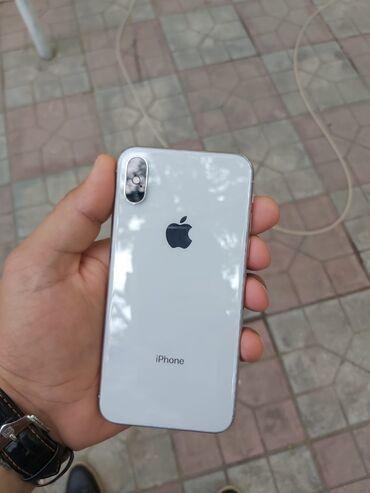 Электроника в Сабирабад: Iphone X satilir ag reng hec bir prablemi yox ustunde adapdir nauwnik