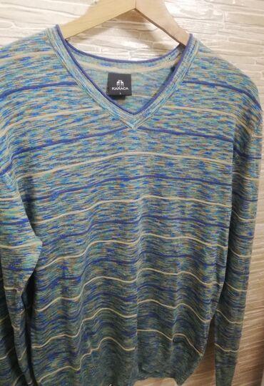 Muski sako - Srbija: Muški končani džemper sa V izrezom. Brend: Karaca. Veličina L