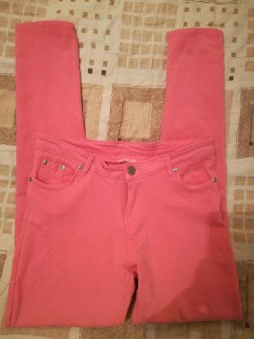 Pantalone-dublje-mekane-i-rastegljive-xl - Srbija: Terranova pantalone rastegljive,vel:L,kao nove,pamuk I likra 5%