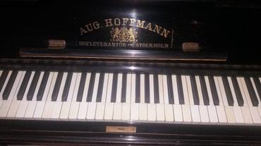 Aug Hoffmann klavir u odlicnom stanju. Pancevo. Moze da se pogleda. - Belgrade