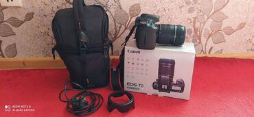 Foto və videokameralar - Cəlilabad: Canon 7D+18.135+16gb,kart.ve,( 7ka)