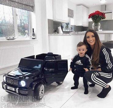 Детские электрокары - Кыргызстан: Детская машинка Mercedes G 6.5 AMGв рассрочку через банк и без