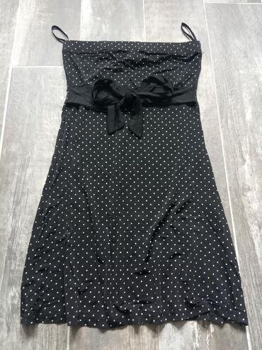Haljine | Novi Banovci: Top elasticna mini haljinica. Vezuje se ispod grudi. Haljina je