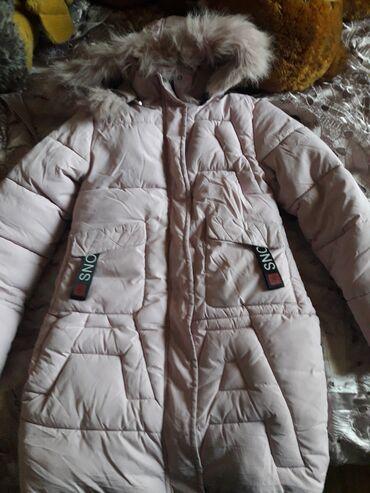 Пальто на девочку,б/У  Очень тёплое 146 см 8-9лет