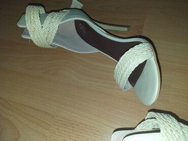 Ženska obuća   Arandjelovac: Bele sandale vel 39
