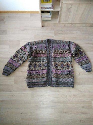 Muška odeća | Trstenik: Potpuno novi, muski vuneni dzemper iz Sirogojna. Veoma kvalitetan