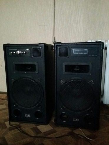 Колонки акустические есть аукс, сдаю в аренду 350сом сутки в Бишкек - фото 2