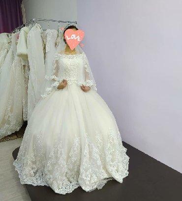 Свадебные платья - Токмак: Прокат свадебного платья за 4000 сом . В стоимость все включено  Макия