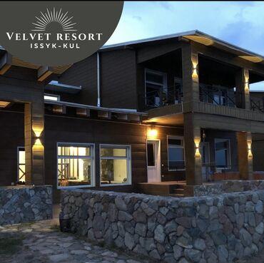 Номер, Velvet Resort Кош-Кол, Детская площадка, Парковка, стоянка, Охраняемая территория