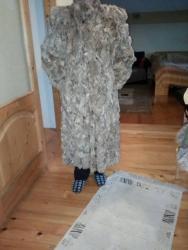 Krzneni kaputi - Gornji Milanovac: Dugačka krznena bunda, kupljena u Grčkoj.Nošena ali vrlo očuvana bez