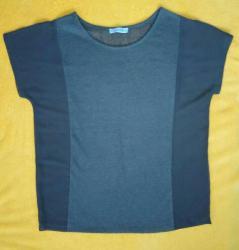 Calliope - Srbija: Bluza CALLIOPEmaslinasto zelena boja tesko za slikanje uhvatiti