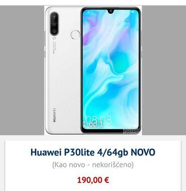 Turski li - Srbija: Huawei P30 lite