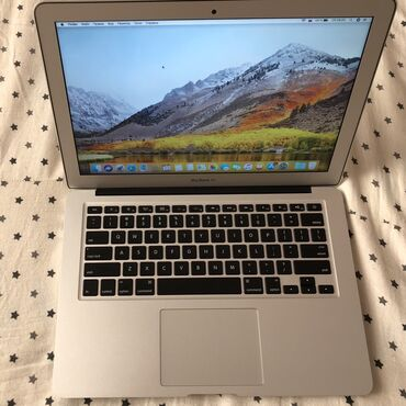 компьютеры за 5000 в Кыргызстан: MacBook Air 13 Late 2013 Intel core i7 2.2Ghz Ram 8gb 1600Mhzь SSD 128