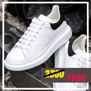 автоледи обувь в Кыргызстан: Кроссовки Alexander mcqueen ️ размер: 36/45* lux