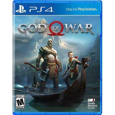 Электроника - Дюбенди: Ps4 disk God Of War playstation 4 pro oyunlar diskler