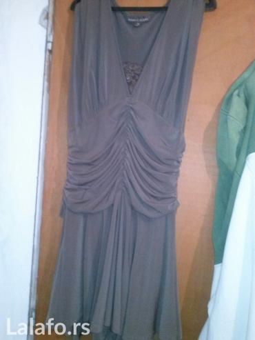 Haljina elasticna lagana braon boje univerzalne velicine - Loznica