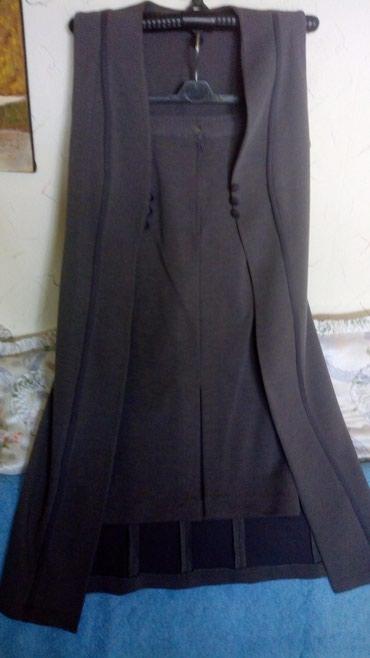Nov pamucni kvalitetan komplet,suknja i prsluk dug..br 38cm..suknja - Kraljevo