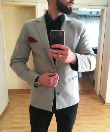 Muška odeća | Leskovac: Kao nov, nosen svega par puta. Velicina 54 - L