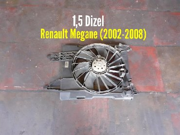 volkswagen дизель в Азербайджан: Renault Megane 1,5 Dizel Ventilyatoru