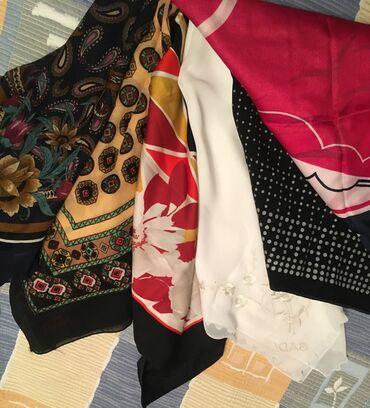 Продаю женские платки, шарфики, косынки б/у в хорошем состоянии, по 50