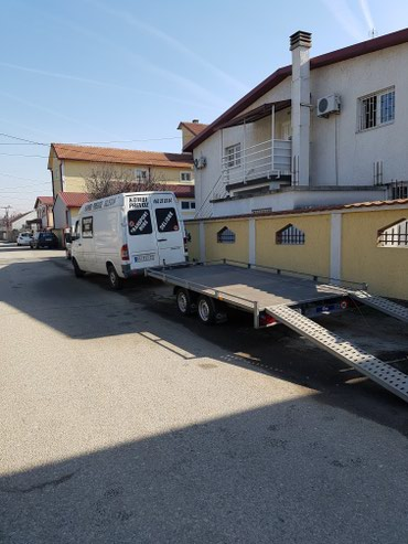 Prevoz - Srbija: Iznajmljivanje prikolica,prevoz automobila,transport,selidbe
