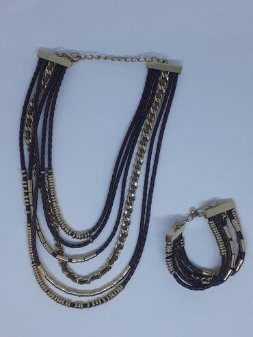 Браслеты набор - Кыргызстан: Набор из ожерелья и браслета. Италия