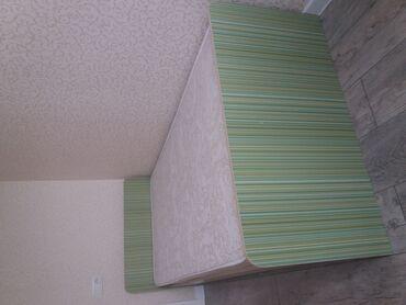 Кровать с матрацом, производство Россия. Состояние нового. Размер