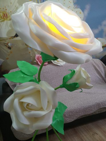 Ростовые цветы из изолона. в Лебединовка
