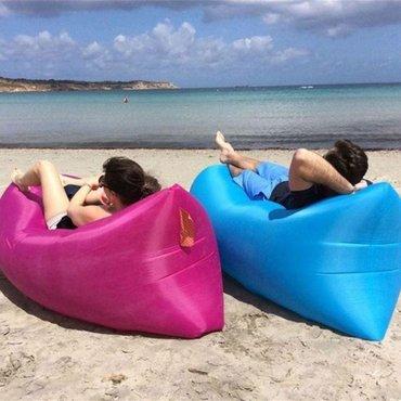 Lazy sofa na naduvavanje - lazy bag - vazdusni krevet  boja: plava, ro in Belgrade