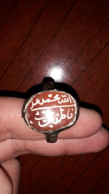 bir - Azərbaycan: Qədim 1 əsirdən çox yaşı olan əl işi üzük gümüşdən, teklifinizi edin
