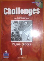 Knjige, časopisi, CD i DVD | Kragujevac: CHALLENGES 1 – RADNA SVESKA SA CD-OM ZA ENGLESKI JEZIK ZA 5. RAZRED