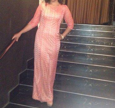 Отличное платье! сшито на заказ из в Бишкек