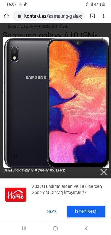 Samsung-3d - Азербайджан: Б/у Samsung A10 32 ГБ Синий