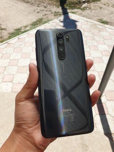 Электроника - Ананьево: Xiaomi Redmi Note 8 Pro | 128 ГБ | Черный | Трещины, царапины, Сенсорный, Отпечаток пальца