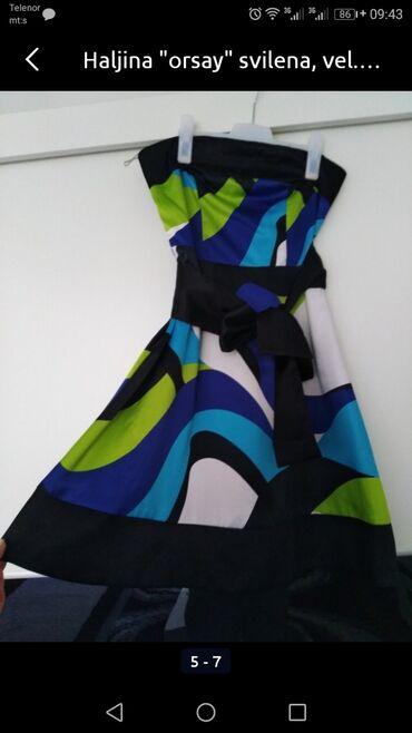 Haljina-orsay-p - Srbija: Prelepa haljina brenda ORSAY, vel. M, u odličnom stanju, jako lagana i