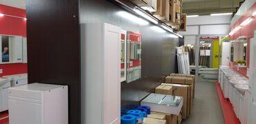Продаю витринный стеллаж,для сантехники,бытовой техники,цвет венге,сос