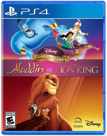 Martin lion - Azərbaycan: Aladdin and lion king Ps4