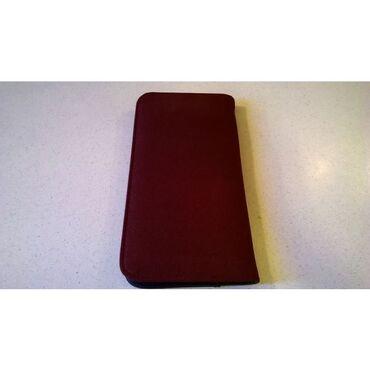 36 - Ελλαδα: Θήκη καρτών μπλέ κόκκινη με 12 φύλλα x 3 θήκες = 36 κάρτες – 23x12 cm