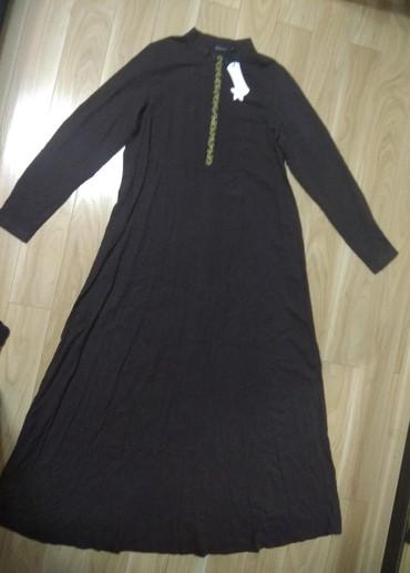 Продаю новое женское длинное теплое платье для кормящих и