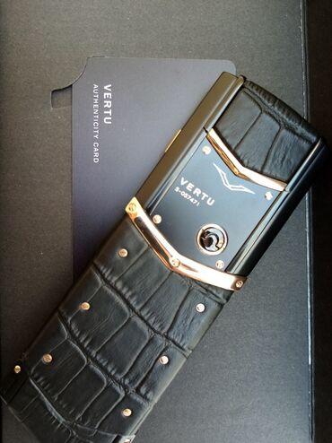 Vertu Signature Gold Black Premium klass Qiymət - 399 AZN Zəmanət 1