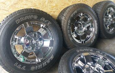 Колеса r18 для внедорожника toyota/lexus (6x139,7)диски и шины в