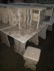 стол на кухню раскладной в Кыргызстан: СТОЛ 4шт ТАБУРЕТКА 3000с+ДОСТАВКА РАСЦВЕТКА МНОГО КРАСНЫЙ ЧЁРНЫЙ